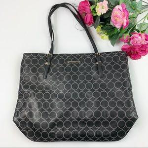 Nine West Faux Leather Large Shoulder Tote Bag